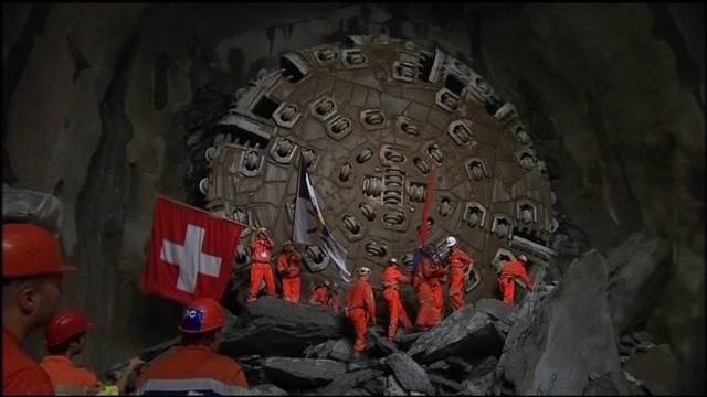 Weltrekord im Gotthard: Längster Tunnel der Welt