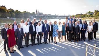 Der Ständerat besuchte am Mittwoch Basel.