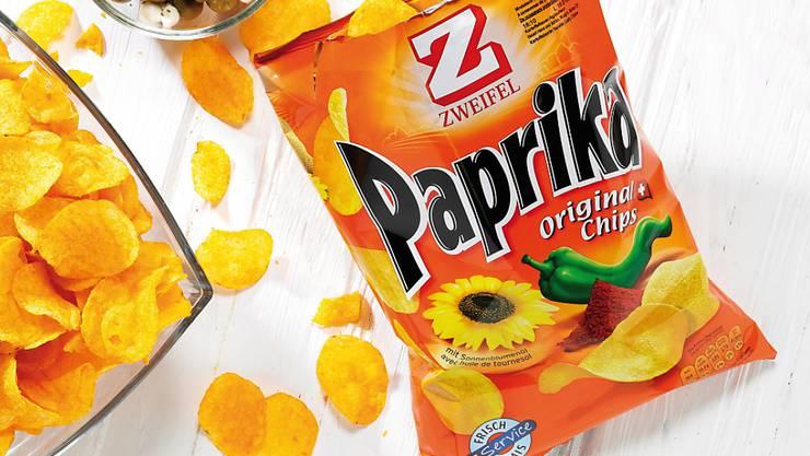 Sommerwetter und Fussball-WM haben die Verkäufe von Zweifel Pomy-Chips im vergangenen Jahr kräftig ansteigen lassen. (Archivbild)
