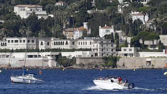 Das Anwesen des saudischen Königs Salman an der Côte d'Azur
