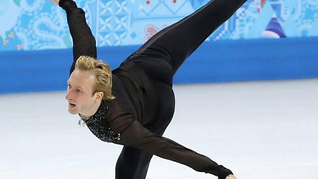 Pluschenko gab nach dem Warmlaufen wegen Rückenbeschwerden auf