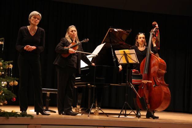 Das Trio Araz spielte zum Jahresauftakt im alten Gemeindesaal Lenzburg