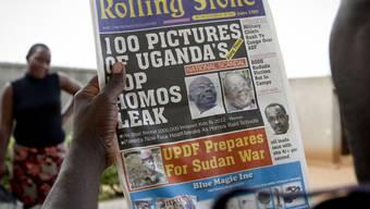 In Uganda gibt es Hetzkampagnen gegen Homosexuelle (Archiv)
