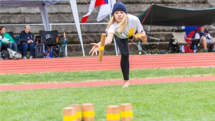 Kubb – ein Männersport? Frauen waren an den «Championships» untervertreten.