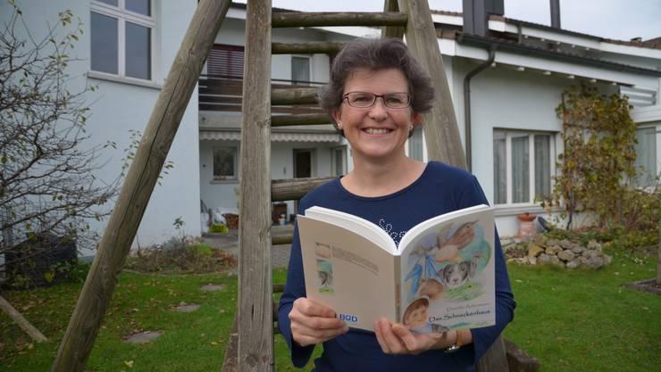 Daniela Ackermann illustriert ihre Kinderbücher auch selber.