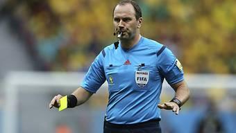 Ref Jonas Eriksson wird Schweizer Spiel gegen Argentinien leiten