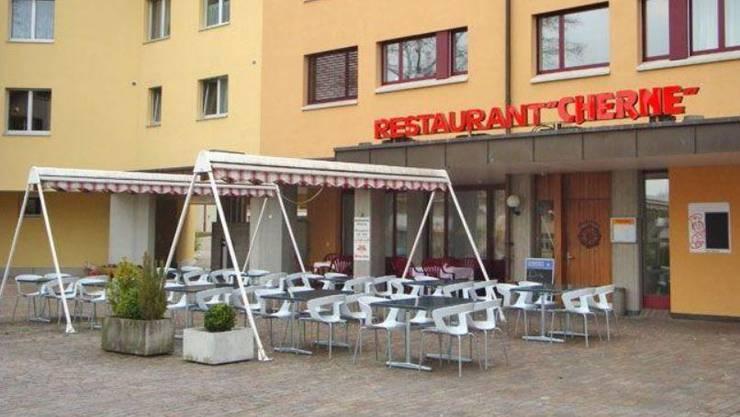 Das Restaurant Cherne.