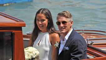 Ana Ivanovic und Bastian Schweinsteiger sind Eltern geworden. (Archivbild)
