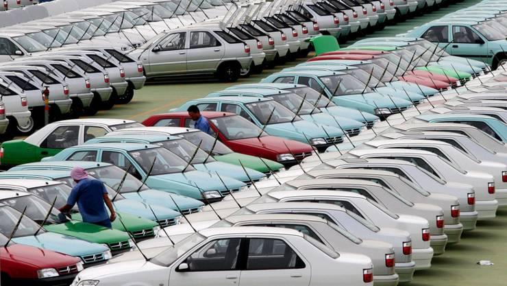 Der chinesische Automarkt könnte 2018 erstmals seit Jahren schrumpfen. (Archiv)
