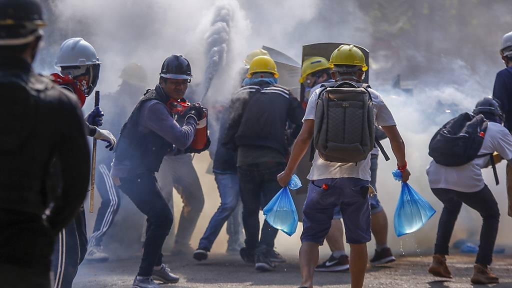 «Wir werden bis zum Ende kämpfen» - Proteste dauern an