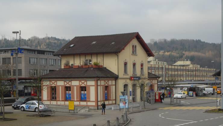 Sanierung Bahnhof Wettingen.