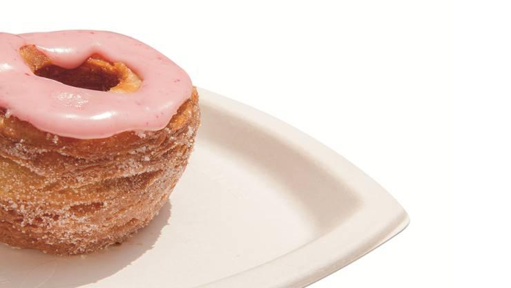 Stein des Anstosses: Der Cronut, eine Mischung aus Croissant und Donut .