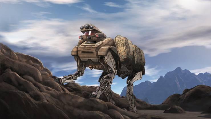 «Big Dog» soll einmal in der US-Army als Lastenträger zum Einsatz kommen.