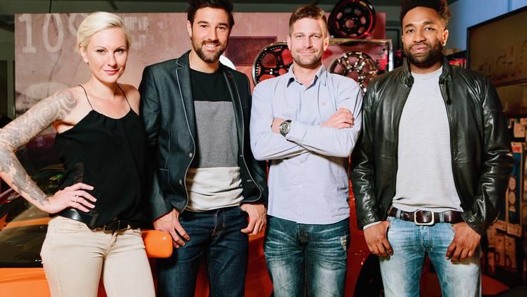 """Das Team der Sendung """"Tacho""""."""