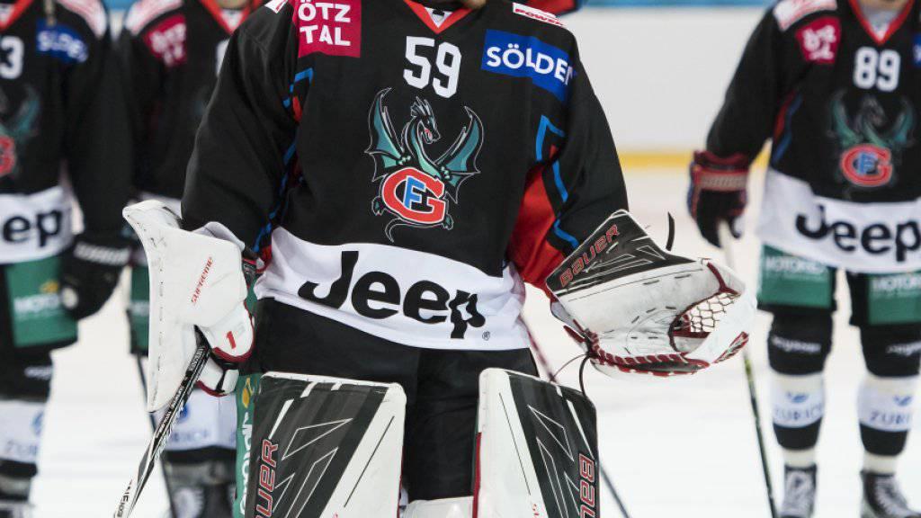 Goalie Dennis Saikkonen zeigte in Kuopio eine starke Leistung, dank der Fribourg mit intakten Chancen ins Rückspiel geht