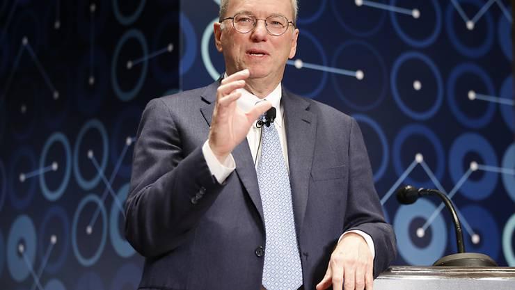 Will sich vermehrt der Forschung und Wohltätigkeit widmen: Ex-Google-Chef und Alphabet-Verwaltungsrat Eric Schmidt. (Archivbild)