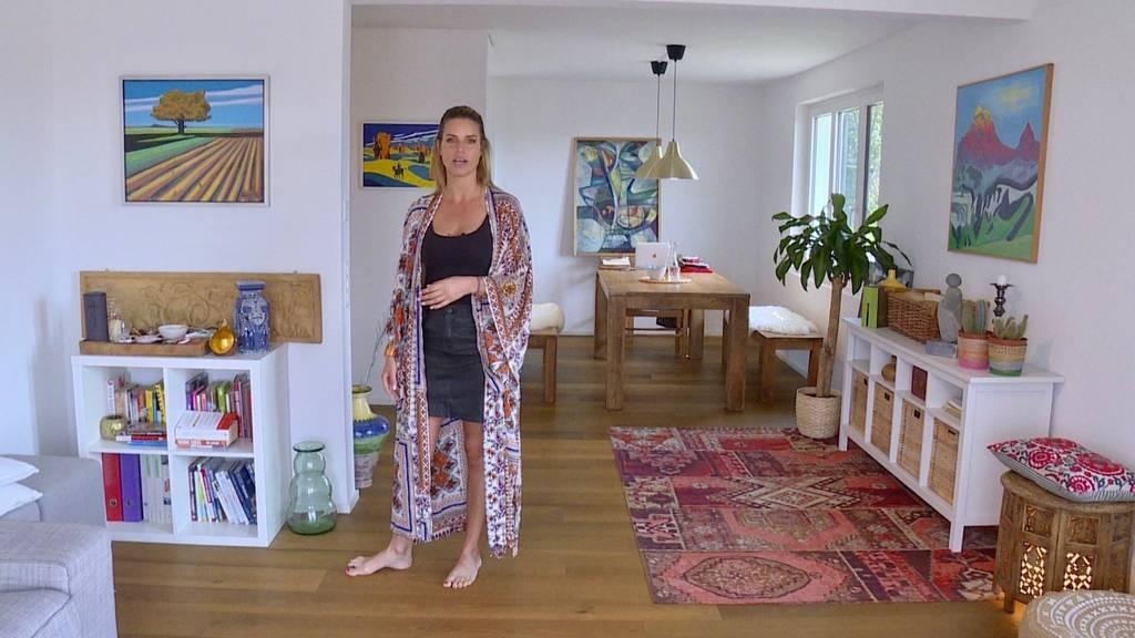 Wie die Kleider, so die Wohnung: Stephanie mag es ausgefallen