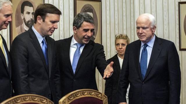 US-Senatoren in Bulgarien