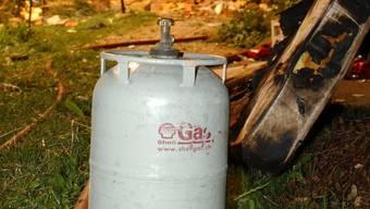Die Feuerwehr konnte das Gas abpumpen. (Symbolbild)