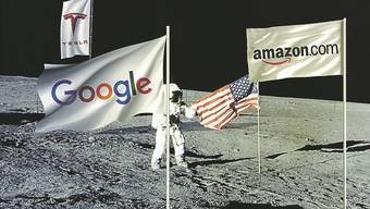 Die Besitzer von Tesla, Amazon und Google haben heute genügend Geld für eine private Mondmission.