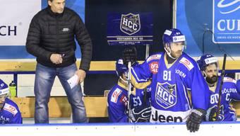 Trainer Alex Reinhard gewann mit La Chaux-de-Fonds den NLB-Spitzenkampf gegen Rapperswil-Jona