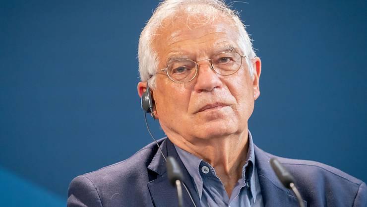 Der EU-Außenbeauftragte Josep Borrell. Foto: Kay Nietfeld/dpa