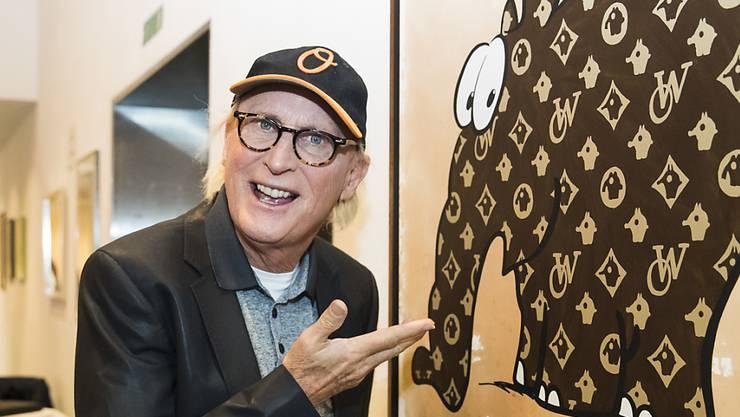 Otto Waalkes ist ein Mulittalent: Er feiert Erfolge als Komiker, Synchronstimme oder Maler - aber einsame Weihnachten machen ihm Angst. (Archivbild)