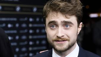 """Ex-Harry-Potter Daniel Radcliffe hat keine Probleme mit Nacktszenen, wie man seit seiner Theaterrolle in """"Equus"""" 2007 weiss. Das bekräftigte nun der """"Kill Your Darlings""""-Regisseur ahand eines pikanten Details. (Archivbild)"""