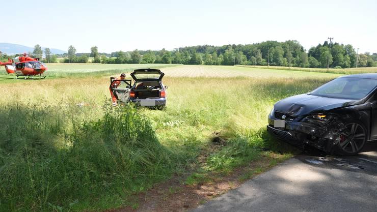 Der Unfall ereignete sich auf der Willadingenstrasse in Recherswil