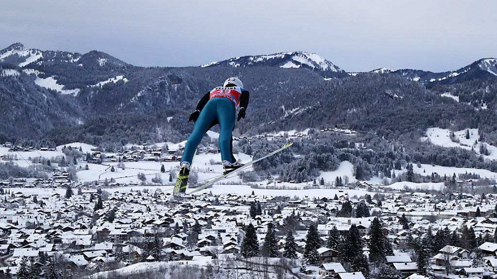 Bester Schweizer in der Qualifikation für den Auftakt zur Vierschanzentournee in Oberstdorf: Simon Ammann