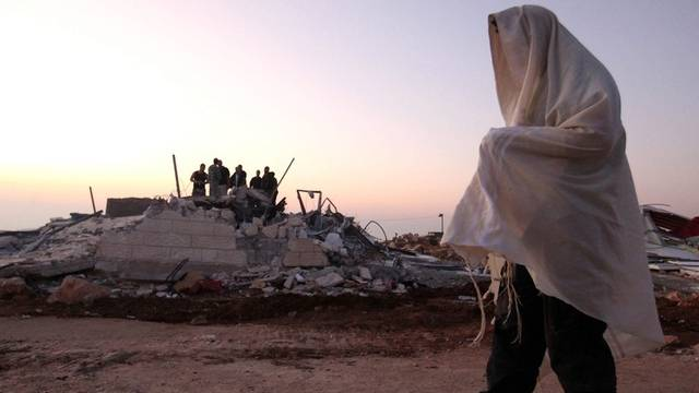 Ein israelischer Siedler im Westjordanland (Archiv)