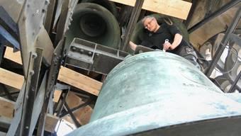Sanierung Glockenstuhl Stadtkirche Baden