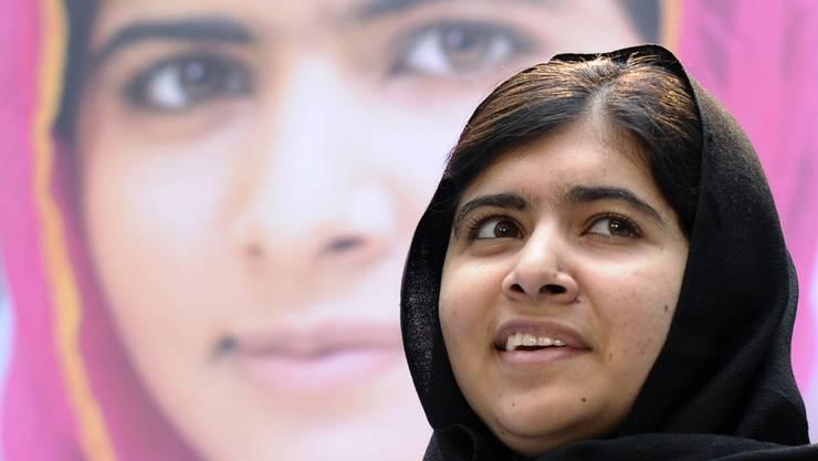 Im Alter von 17 Jahren mit dem Friedensnobelpreis ausgezeichnet: Taliban-Schussopfer und Aktivistin Malala Yousafzai. (Archivbild)