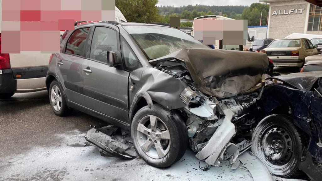 79-jähriger Autofahrer stirbt bei Selbstunfall in Rothrist