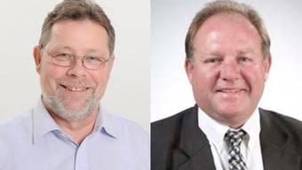 Der Reigoldswiler Felix Weber (rechts) erbt den Sitz des zurückgetretenen BDP-Landrats Hanspeter Kumli, Peter Staub (links) ärgert dies so, dass er aus der Partei austritt.