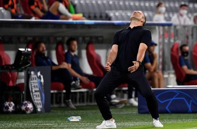 Hansi Flick: Trainer FC Bayern München.