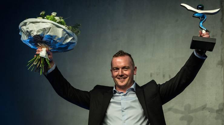 Bobpilot Rico Peter wurde Aargauer Sportler des Jahres 2016
