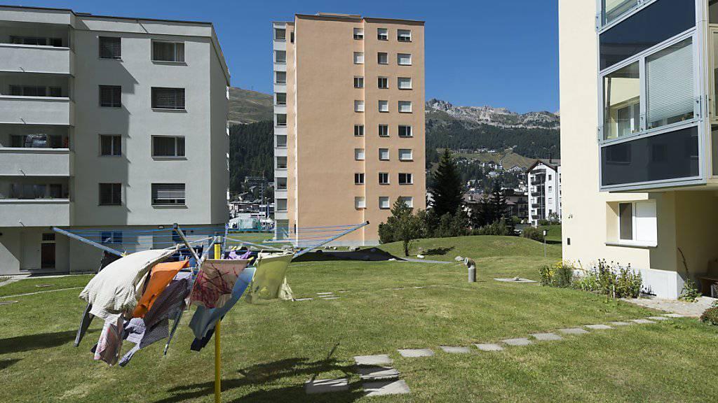 Gehören zu den teuersten: Immobilien in St. Moritz-Bad (Symbolbild).