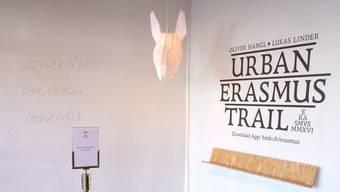 Überall diese Eselsköpfe: Der Rundgang beginnt im Historischen Museum in der Barfüsserkirche.