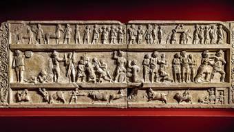Dieses prachtvolle Grabrelief aus Pompeji befindet sich noch immer in Basel. Dabei sollte es längst in Neapel sein – wie Hunderte andere Exponate auch.