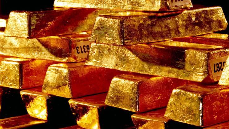 Bei einer Annahme der Gold-Initiative müsste die Nationalbank 20 Prozent ihres Vermögens in Gold halten. (Symbolbild)