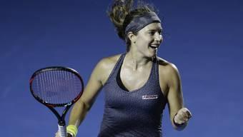 Stefanie Vögele, Halbfinal-Sieg in Acapulco (3.3.2018)