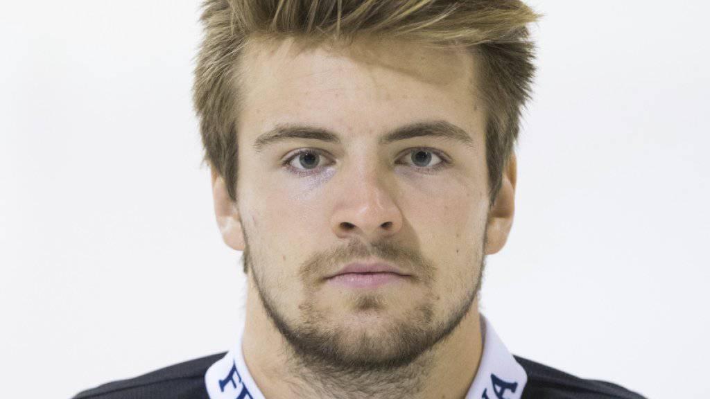 Für den SCB-Stürmer Luca Hischier ist die Saison vorzeitig zu Ende