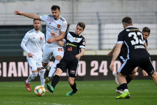 Trotz Tor von Albian Ajeti reicht es dem FCB gegen Lugano nicht zum Sieg.