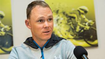 Superstar Chris Froome.