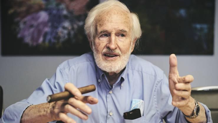 Heinrich Villiger, der letzte Stumpenfabrikant der Schweiz.