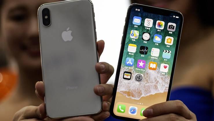 Das Jubiläumsmodell iPhone X soll Apple im Weihnachtsgeschäft die Kassen füllen.