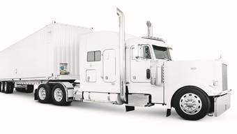 Der «Snowmobile»genannten Amazon-Lastwagen bietet Speicherplatz für 25 Millionen Spielfilme. Ho