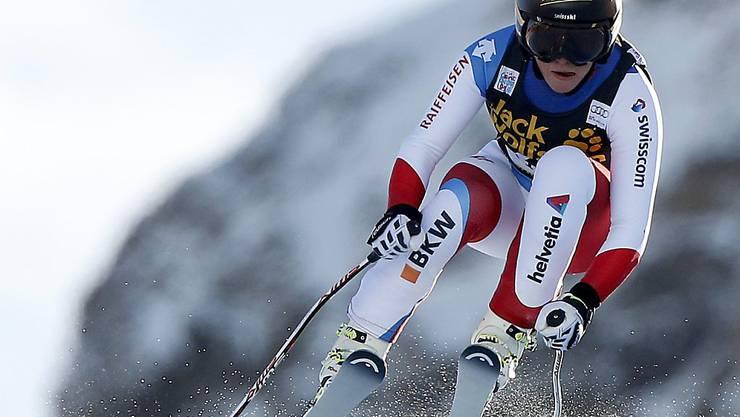 Lara Gut erreicht im ersten Abfahrtstraining in Zauchensee Platz 4