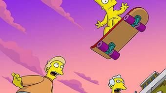 Bart Simpson in seinem ersten Kinofilm (2007)